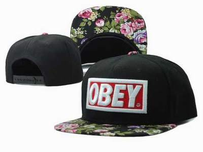 casquette femme obey