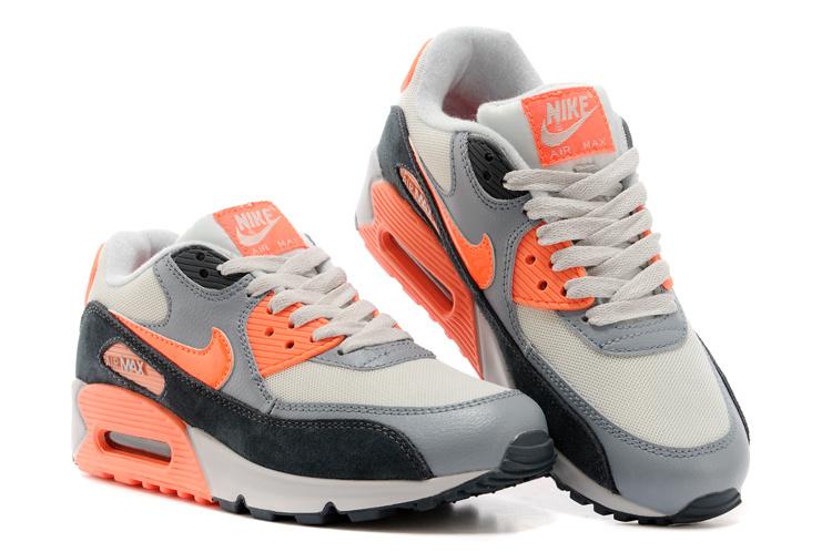 air max 90 grise orange homme